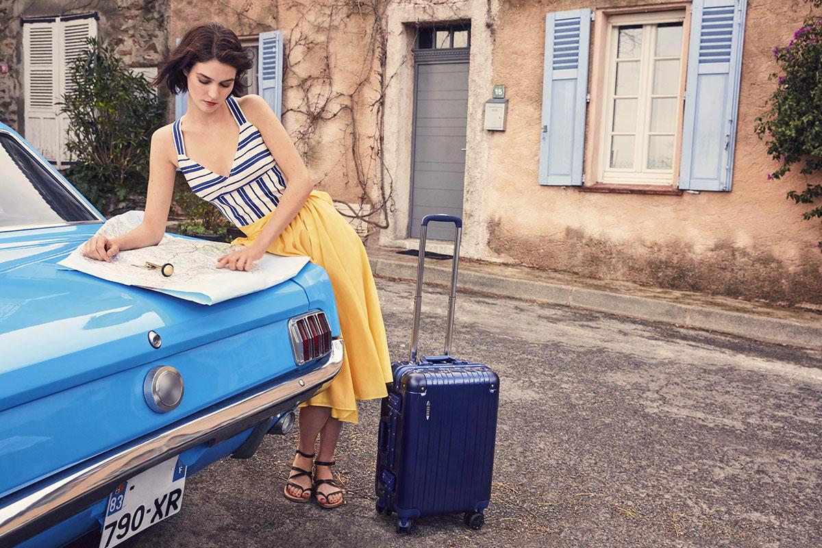 法國品牌ELLE,20吋登機箱